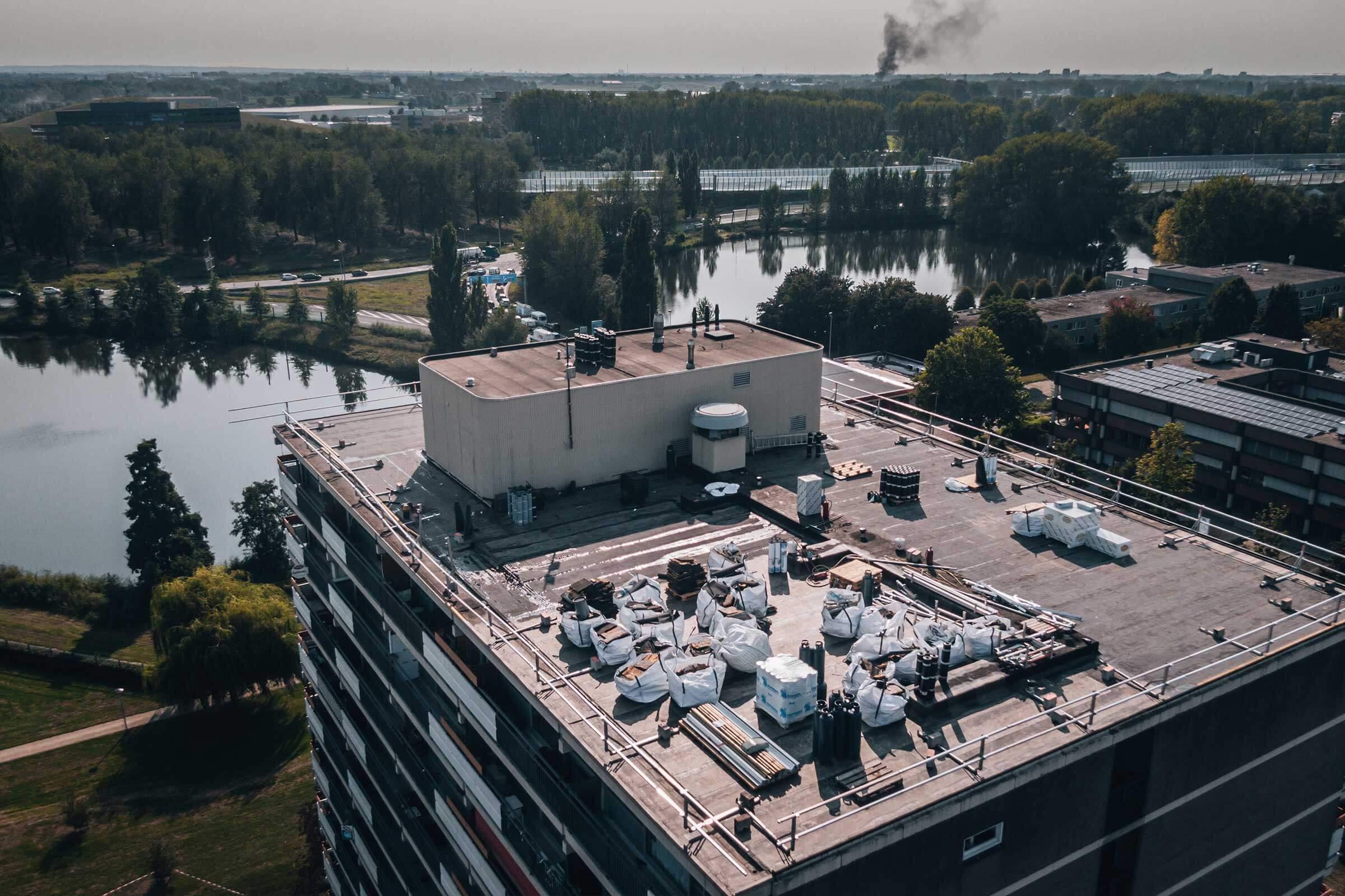 Renovatie Aalscholversingel Velp_Serco Dakspecialisten