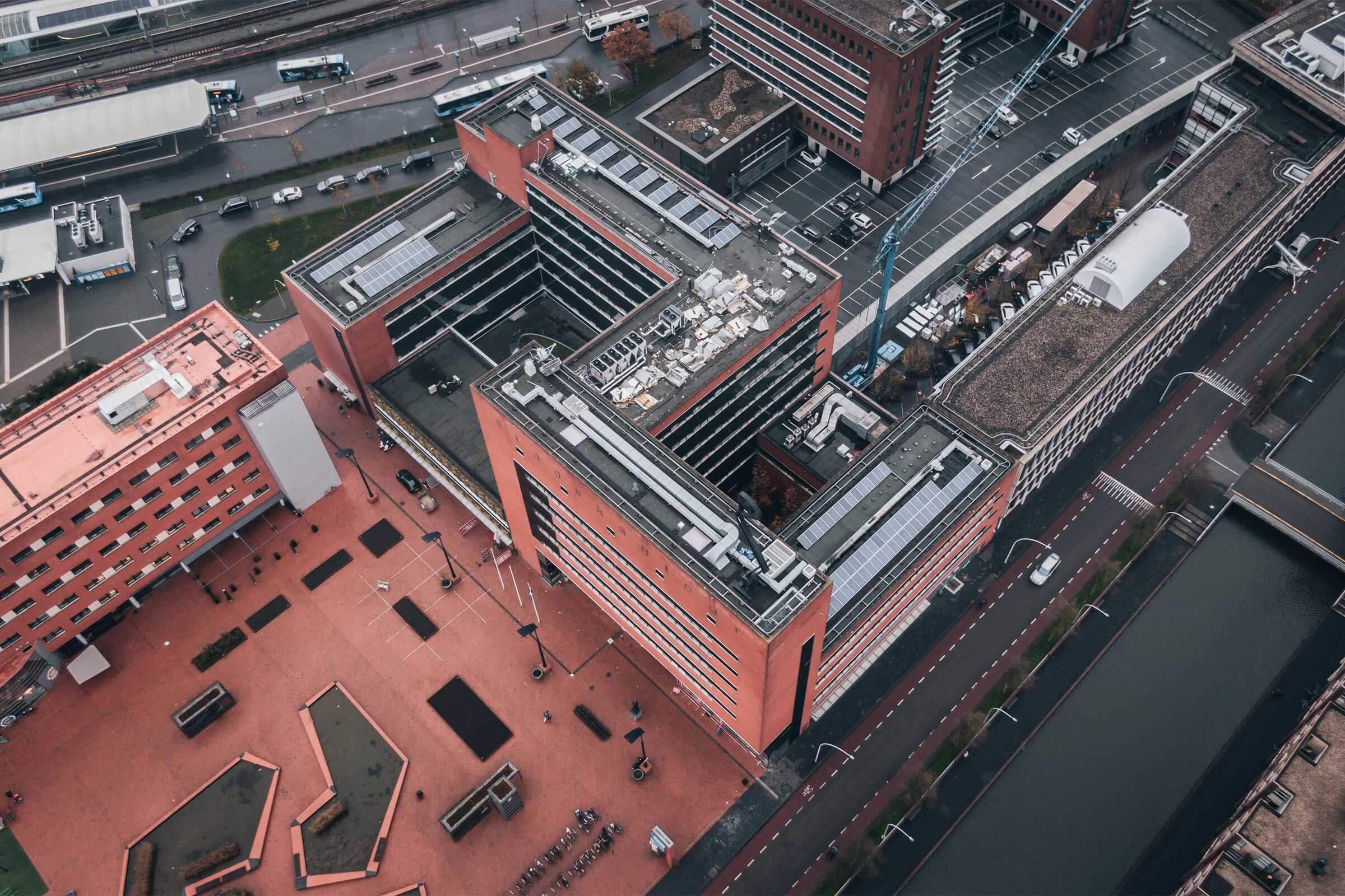 Renovatie Stadskantoor Zwolle