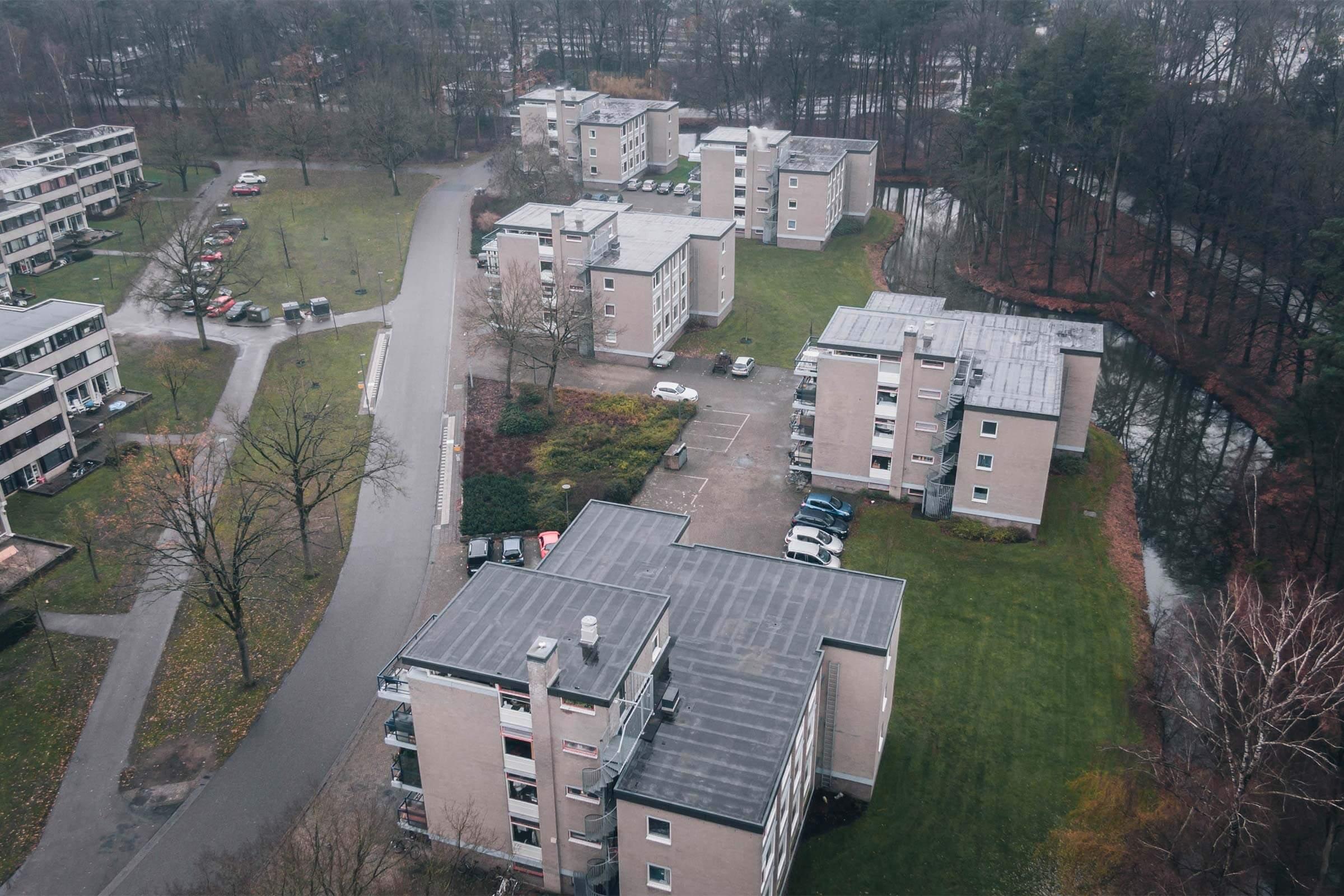 Renovatie universiteit Twente_serco dakspecialisten