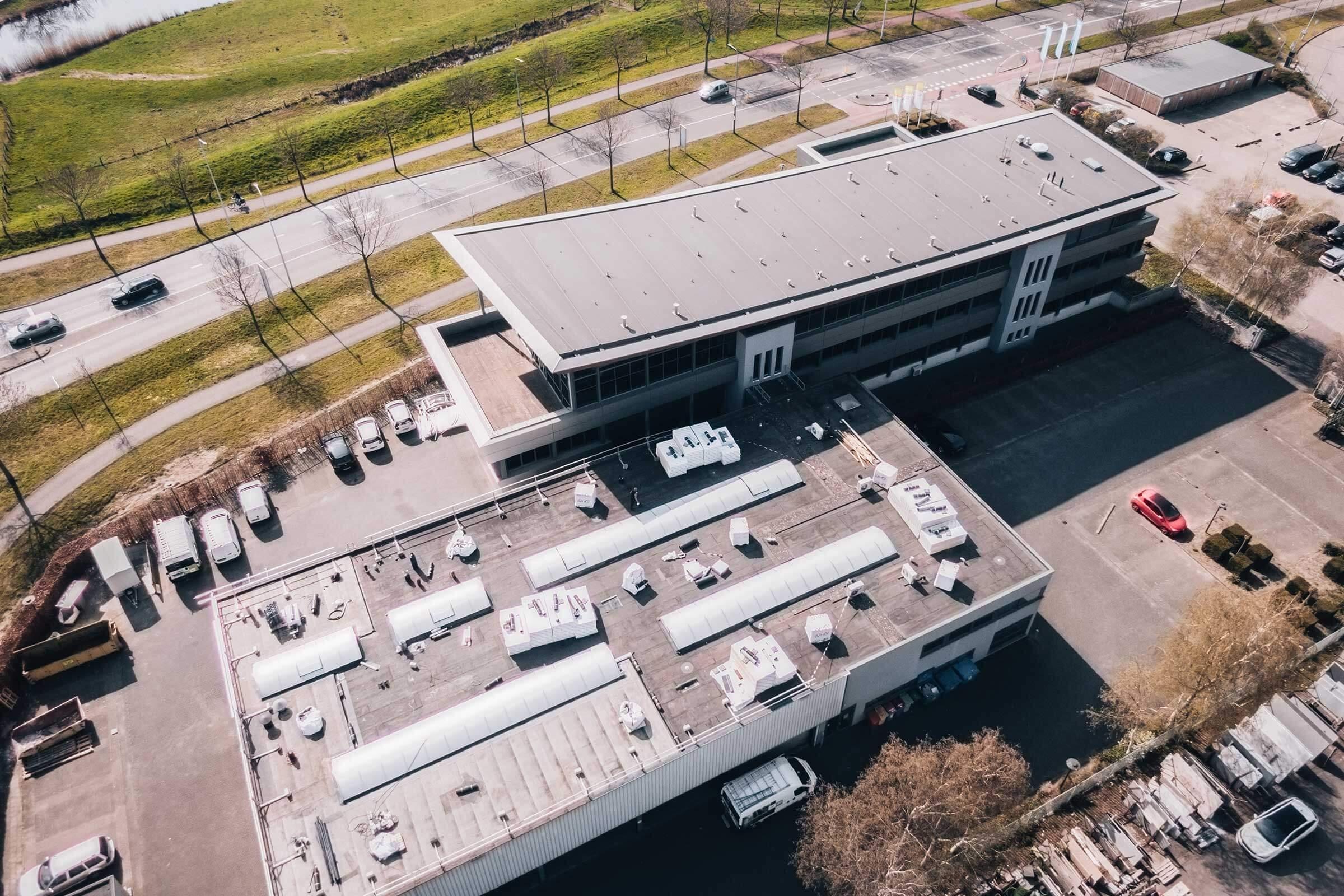 Werkplaats SWZ Zwolle_Serco dakspecialisten